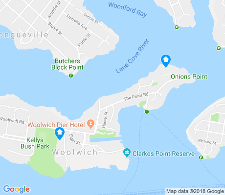 map of Woolwich apartments for rent