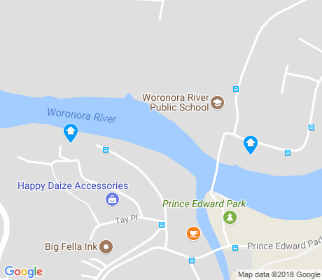 map of Woronora Heights apartments for rent
