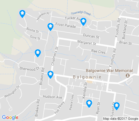 map of Balgownie apartments for rent