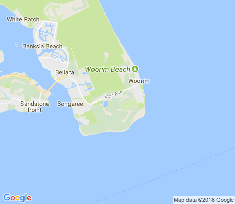 map of Woorim apartments for rent