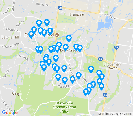 map of Albany Creek apartments for rent