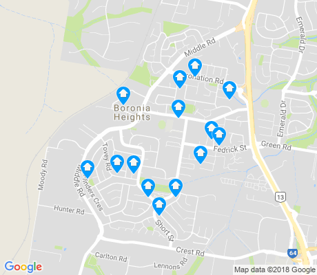 map of Boronia Heights apartments for rent