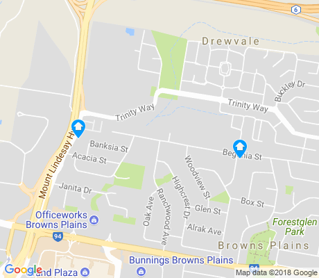 map of Drewvale apartments for rent