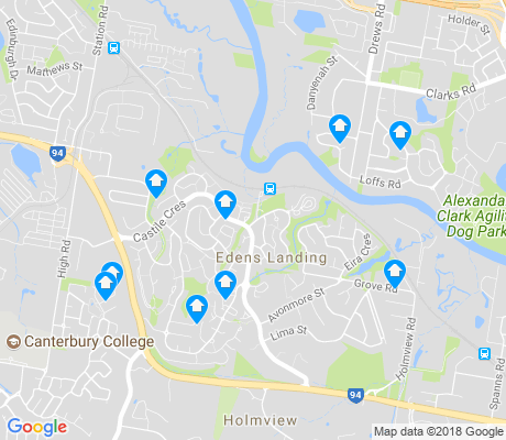 map of Edens Landing apartments for rent