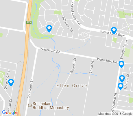 map of Ellen Grove apartments for rent