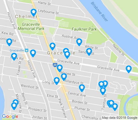 map of Graceville apartments for rent