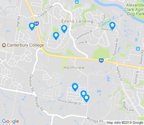 map of Holmview apartments for rent