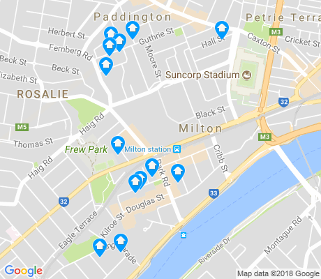 map of Milton apartments for rent
