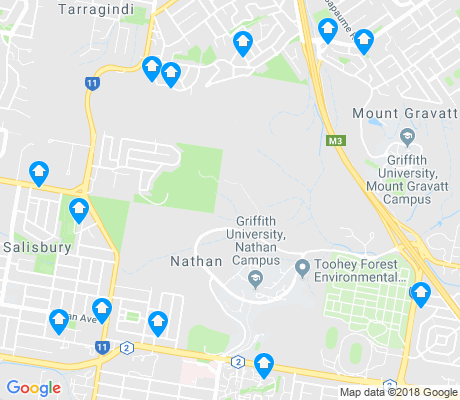 map of Nathan apartments for rent