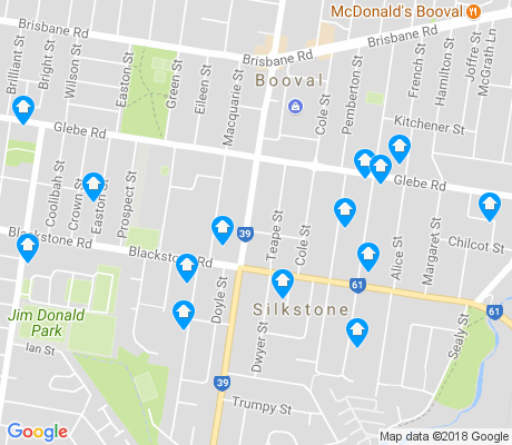 map of Silkstone apartments for rent