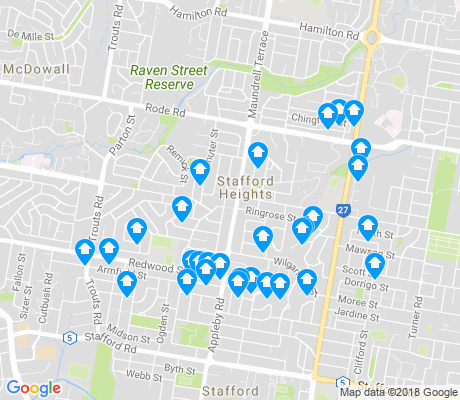 map of Stafford Heights apartments for rent