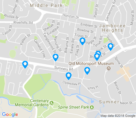 map of Sumner apartments for rent
