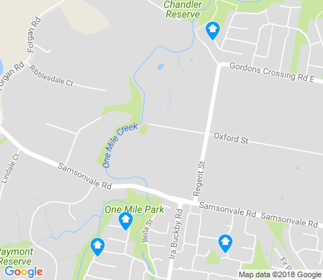 map of Whiteside apartments for rent