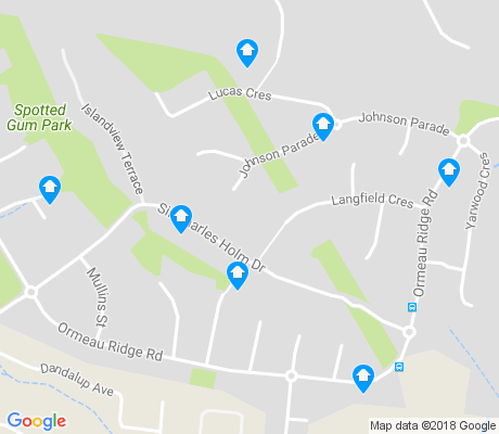 map of Ormeau Hills apartments for rent