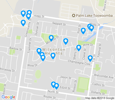 map of Wilsonton Heights apartments for rent