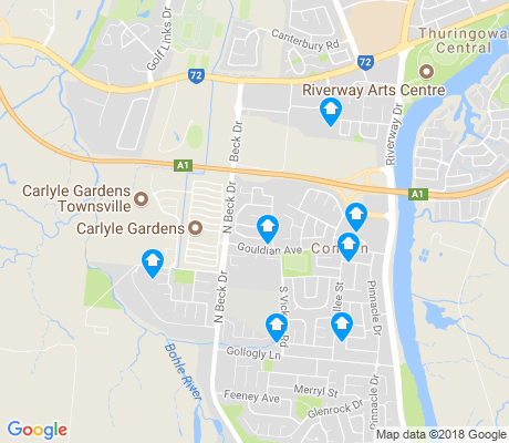 map of Condon apartments for rent