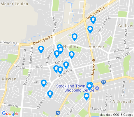 map of Heatley apartments for rent