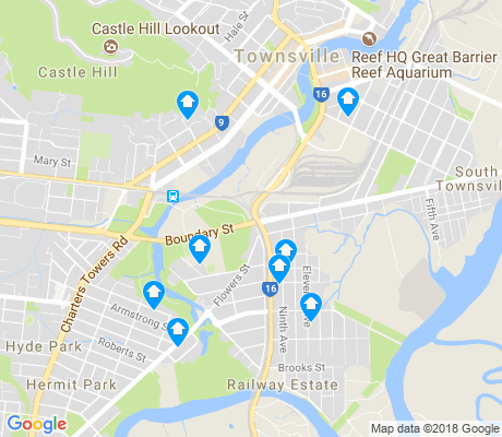 map of Railway Estate apartments for rent