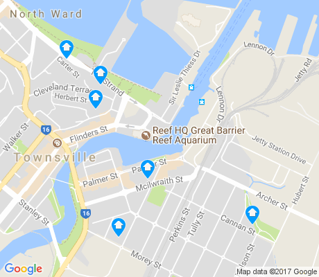 map of South Townsville apartments for rent