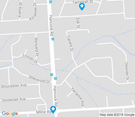 map of Banksia Park apartments for rent