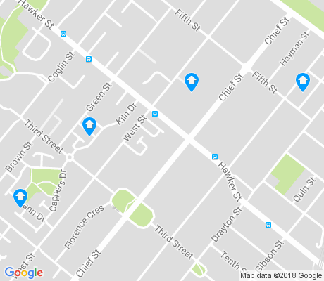 map of Bowden apartments for rent