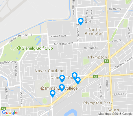 map of Camden Park apartments for rent