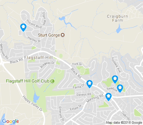 map of Flagstaff Hill apartments for rent