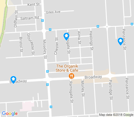 map of Glenelg South apartments for rent