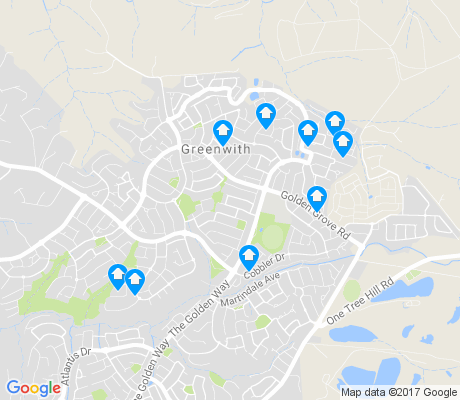 map of Greenwith apartments for rent