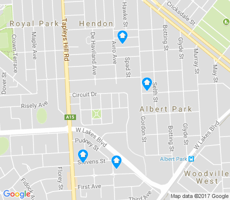 map of Hendon apartments for rent