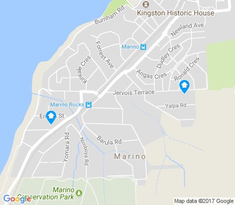 map of Marino apartments for rent