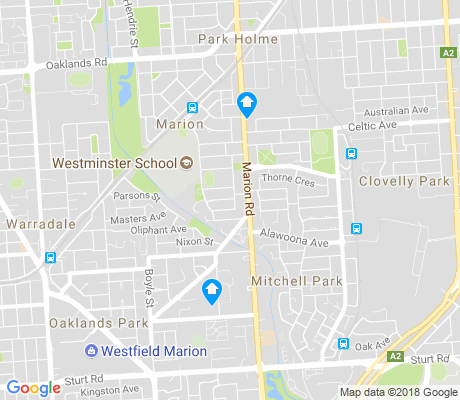 map of Marion apartments for rent