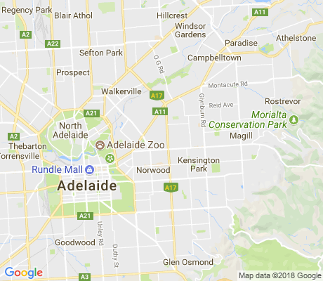map of Maylands apartments for rent