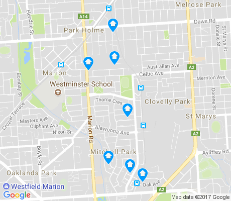 map of Mitchell Park apartments for rent