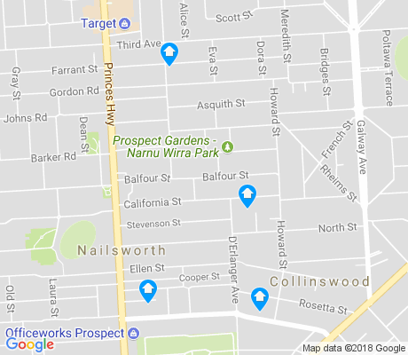 map of Nailsworth apartments for rent