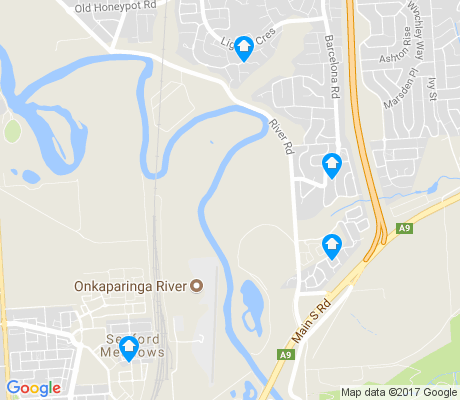 map of Noarlunga Downs apartments for rent