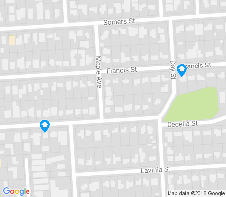 map of North Brighton apartments for rent