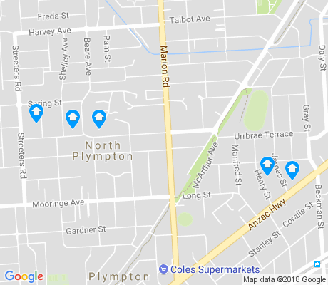 map of North Plympton apartments for rent