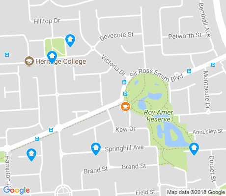 map of Oakden apartments for rent