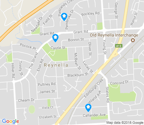 map of Old Reynella apartments for rent