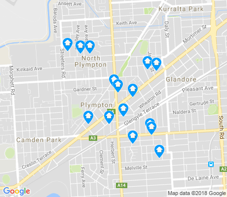 map of Plympton apartments for rent