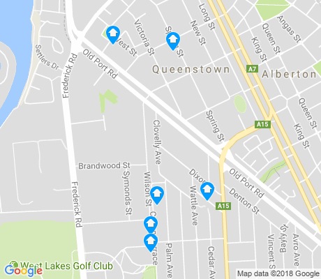 map of Royal Park apartments for rent