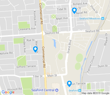 map of Seaford apartments for rent