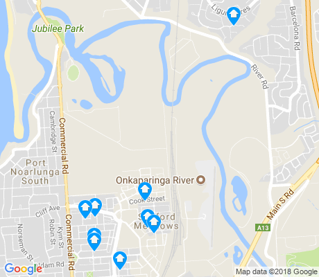 map of Seaford Meadows apartments for rent