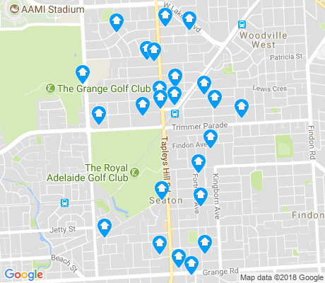 map of Seaton apartments for rent