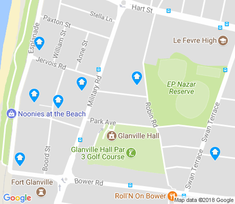 map of Semaphore South apartments for rent