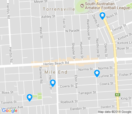 map of Torrensville apartments for rent