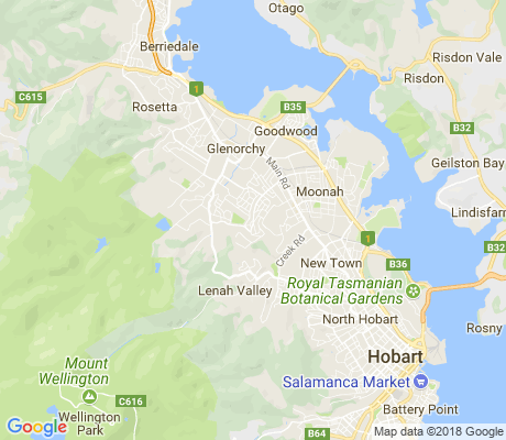map of West Moonah apartments for rent