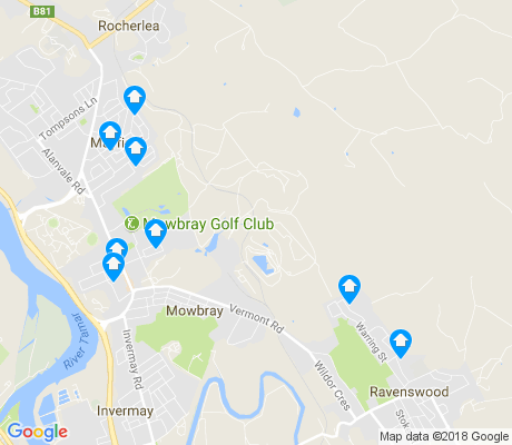 map of Mowbray apartments for rent