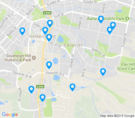 map of Canadian apartments for rent